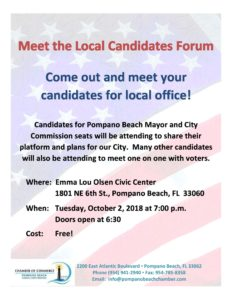 Chamber Candidate Forum
