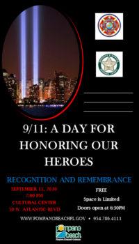 Pompano Beach September 11 event